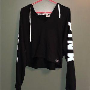 🖤💥 Brand New!! Cropped vneck sweatshirt
